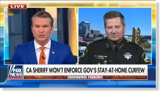 Sacramento County Sheriff Scott Jones