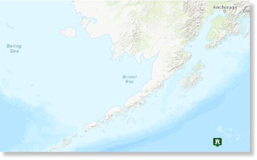The U.S. Geological Survey said the earthquake struck near the Aleutian Islands, which lie in a seismically active area off the coast of Alaska.Credit...