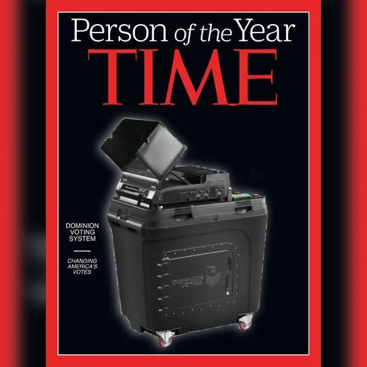Time Dominion voting machine