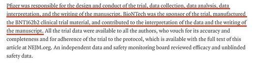 Trial Pfizer BioNTech