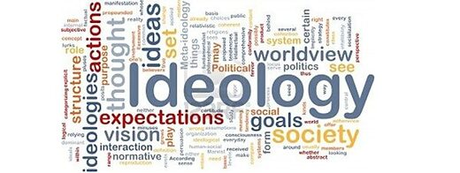 ideology word cloud