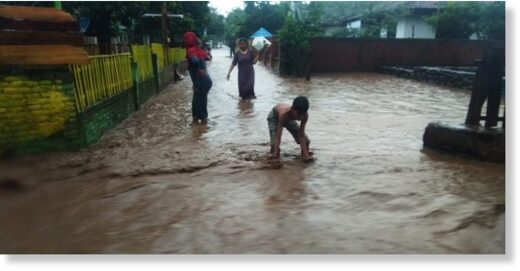 Floods in Bima Regency, Indonesia, 05 January
