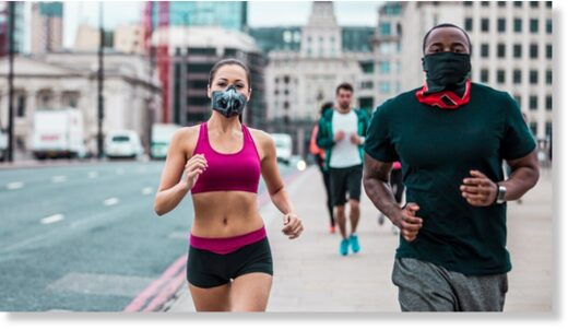 face mask joggers