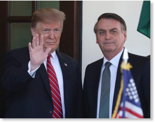 Trump and Bolsonaro