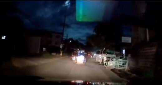 Meteor fireball over Philippines