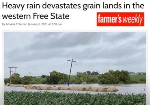 Floods in western Free State