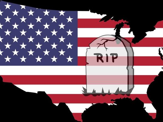 America's demise is near at hand - R.I.P