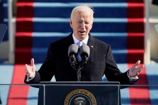 Joe Biden's inaugural speech