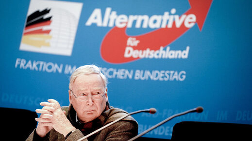 Alexander Gauland, leader of the AfD