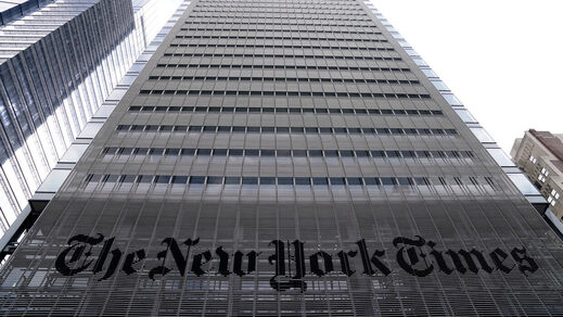 The New York Times office in the Manhattan