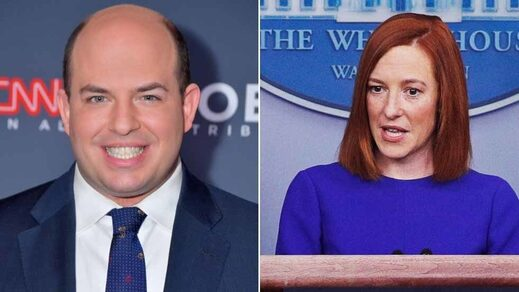 Stelter Psaki CNN white house press secretary