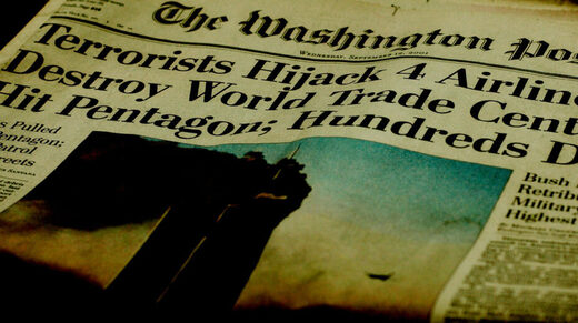 Washington post headline 9/11