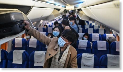 plane face masks
