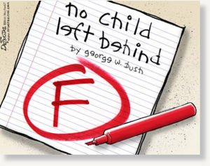no child left behind, schools