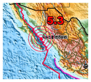Gulf of California Quake
