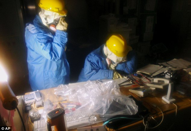 First pictures emerge of the Fukushima Fifty as they battle radiation poisoning to save Japan's stricken nuclear power plant