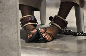 chained,feet