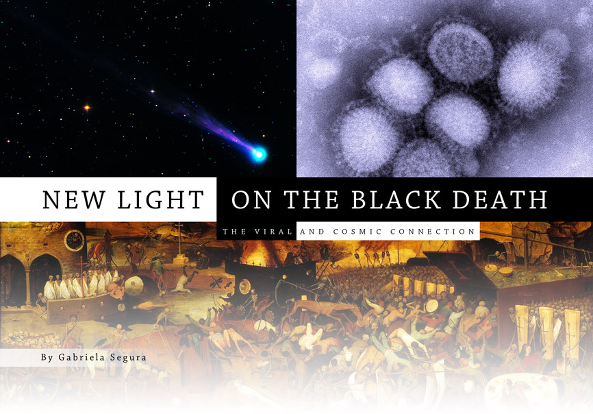 New Light on the Black Death: The Viral and Cosmic Connection