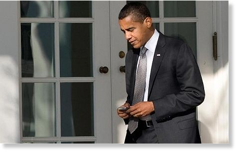 Obama Texter In Chief