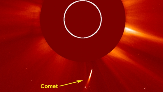 Stunning Video: Comet Collides With the Sun