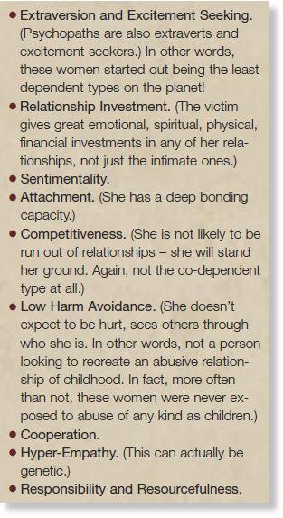 Female sociopathic traits