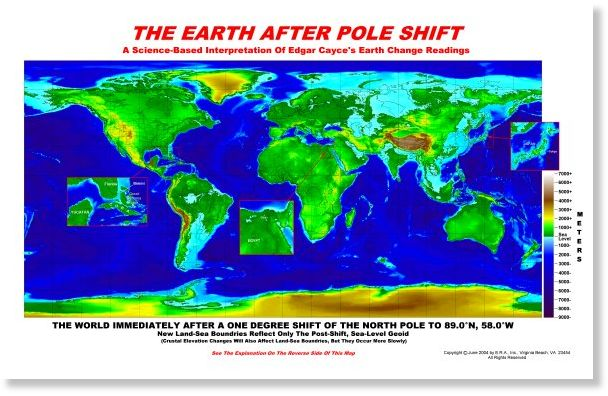 On A Definitely Need To Know Basis About Geomagnetic Reversal And - Us navy map after the coming pole shift