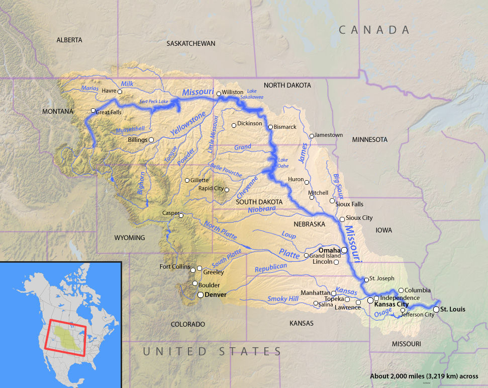 Us Missouri River States Brace For Floods Earth Changes Sott Net
