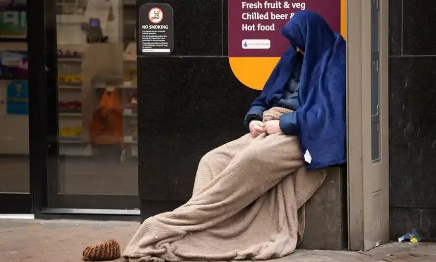 UK homeless deaths rise by more than a third in a year, study finds