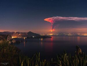 Etna eruption