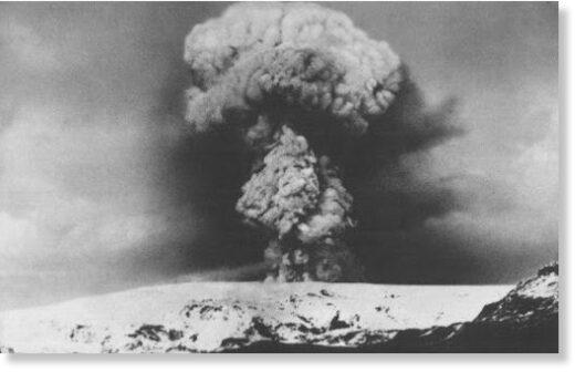 Katla's 1918 VEI 4 eruption [visitklaustur.is].