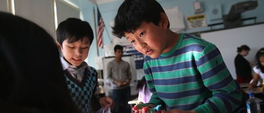 Asian students in Boston schools