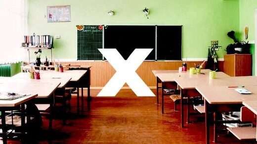 X marks the teacher