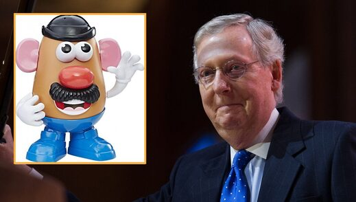 Mr. Potato - Mitch McConnell