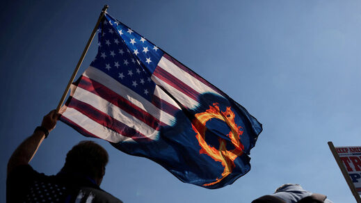 US flag quanon