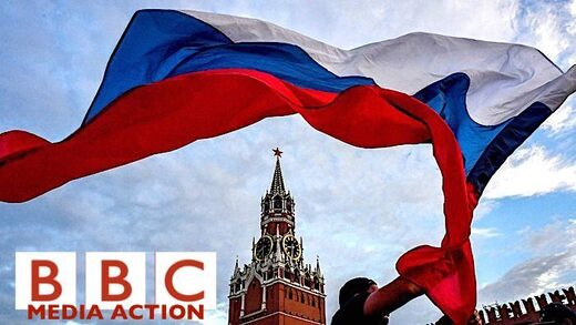 BBC Media Action Russian flag