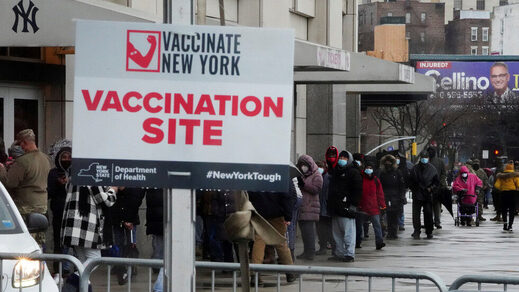 covid vaccine station new york city