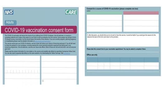 covid-19 vaccination consent form