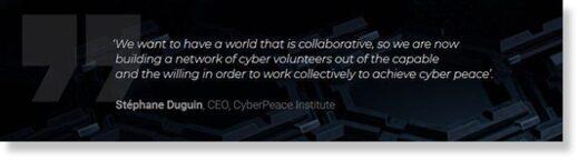 Cyber Peace institute