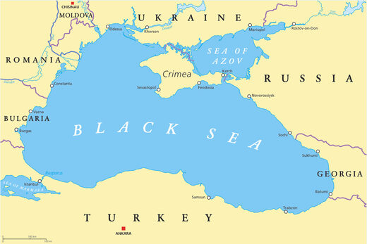Black sea Turkey Ukraine