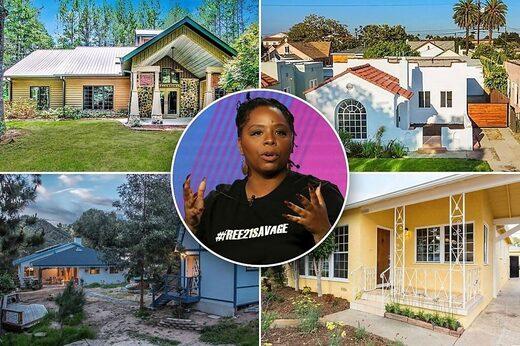 patrisse cullors blm real estate houses