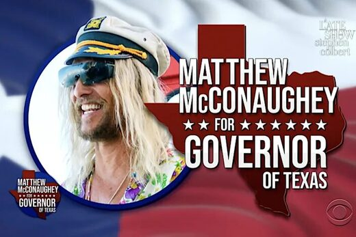 mcconaughey for governor