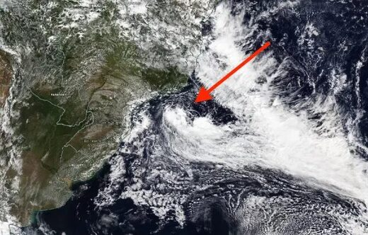 Rare subtropical storm takes shape in Atlantic Ocean