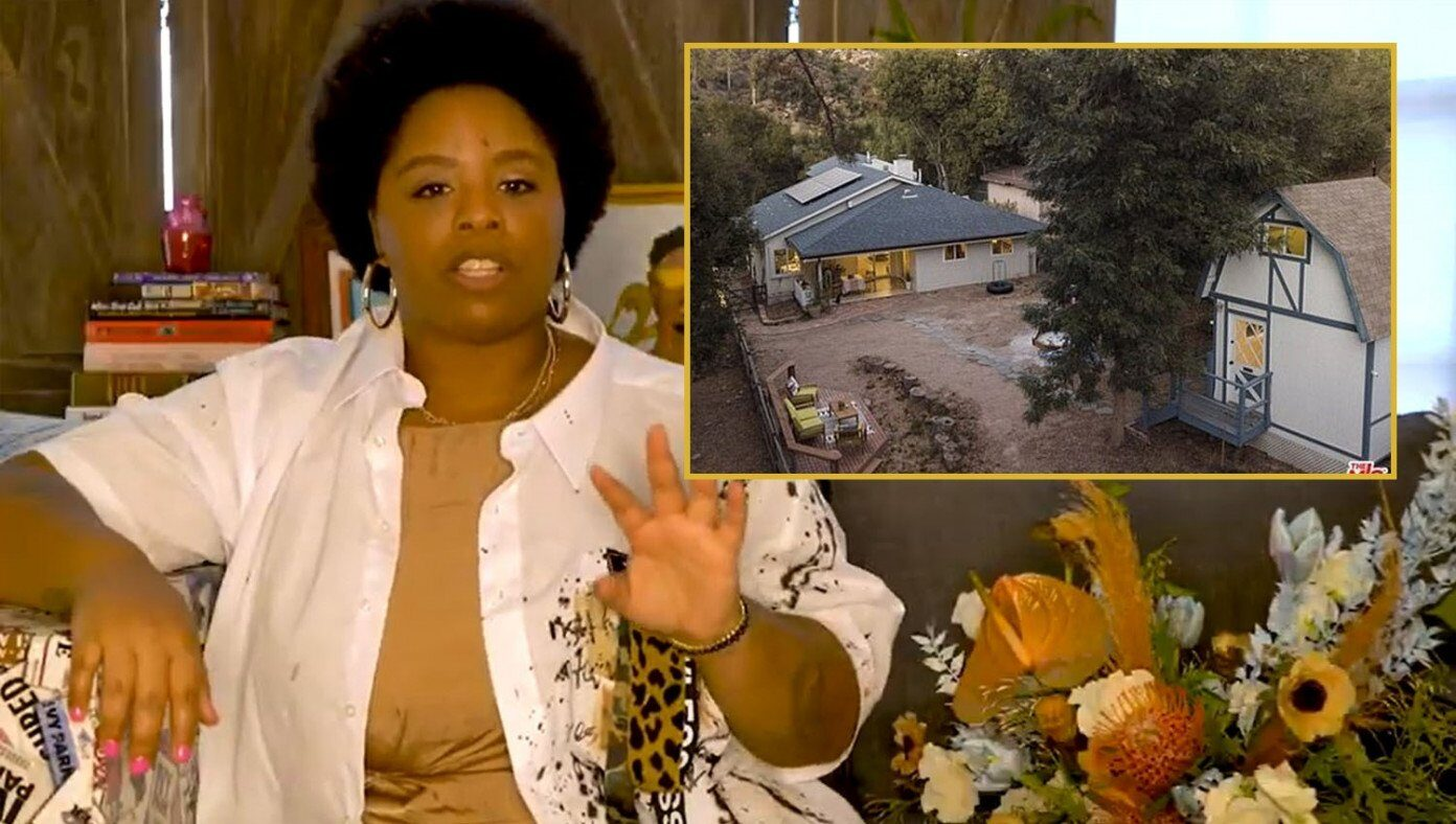 BLM founder reminds everyone justice won't fully be served until she can buy a 5th house