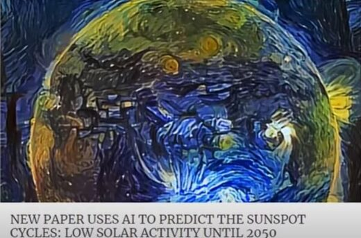 AI sunspot cycles