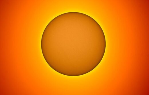 May 3: the sun is once again blank–devoid of sunspots.