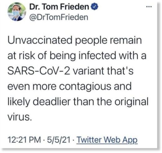 Dr. Frieden quote