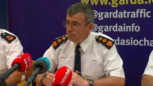 Drew Harris ireland police covid