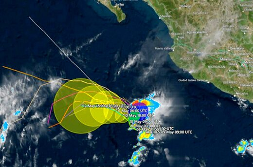 hurricane andres earliest 2021