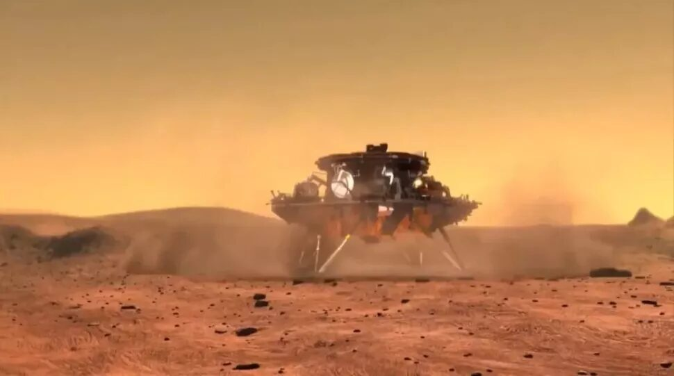 China's 1st Mars rover 'Zhurong' lands on the Red Planet
