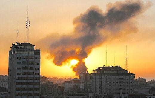 Gaza burns